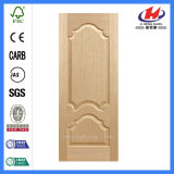 Interior HDF MDF Laminated Moulded Veneer Door Skin (JHK-008-1)