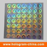 Silver Laser Hologram 2D 3D Holographic Sticker