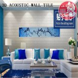 Decorative PVC 3D Soundproof Self Adhesive Brick for Hotel