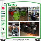 Shop Counter Design Cash Counter with Conveyor Belt