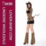 Sexy Women Cat Halloween Costume (L1500)