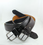 Classic and Basic Man Belt with Split Leather Linning M399