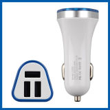 3 Ports USB Car Charger for Any Car All Devices