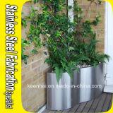 Stainless Steel Flower Pot Garden Planter Half Planter Pot