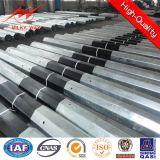 Polygonal Bitumen Municipal Steel Material Poles with Cross Arm