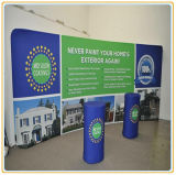 10FT Curved Portable Single Sided, Banner Stand