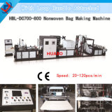 Non Woven Online Square Bag Making Machine with Creasing