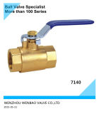 2PC Heavy Type Female Threaded Brass Ball Valve