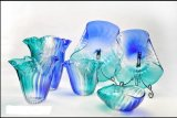 Multicolour Murano Glass Bowls for Table Decoration Art