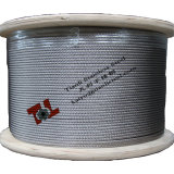 Stainless Wire Rope AISI 316 7X19 3mm