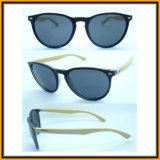 F15287 Wholesale Fashion Bamboo Temple Sun Glasses