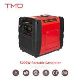 5000W 5kw 5000 Watts Super Silent/Quiet Gasoline/Petrol/Diesel Powered Portable Inverter Generators with Ce, GS, EPA Approval