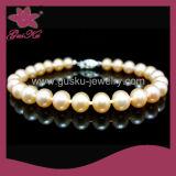 Fashion Lady Natural Pearl Bracelet (2015 Plb-024)