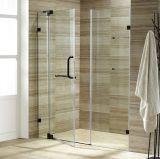 Frameless Design Simple Shower Door for Shower Room