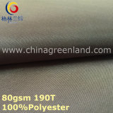 Pongee Polyester Taffeta Plain Fabric for Garment Lining (GLLML297)