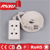 Double Gang Convenience Socket, White Data Socket