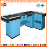 Stainless Steel Strong Supermarket Cashier Table Checkstand Checkout Counter (Zhc36)