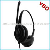 Best Binaural Rj9 Call Center Noise Cancelling Telephone Headset