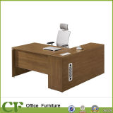 Combined Office Desk with Long Side Cabinet
