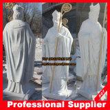 Saint Patrick Stone Carving Marble / Granite Statue Marble Sculpture