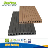 Outdoor Decoration WPC Materials Cheaper WPC Composite Hollow Decking 22*160mm