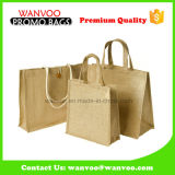 Fashion Tote Shopping Promotional Jute Liene Fabric Bag