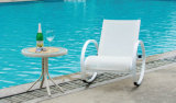 Patio Adjustable Teslin Rocking Lounger