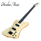 Hanhai Music / Unusual Shaped 4-String Electric Bass Guitar