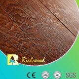 Commercial 8.3mm E1 HDF AC4 Embossed V-Grooved Laminated Floor