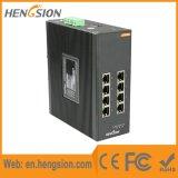Managed 8 Gigabit Port Tx Industrial Ethernet Network Switch