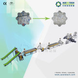 PLC Control HDPE Bottles Flakes Washing Recycling System