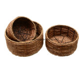 Natural Material Seagrass Storage Basket