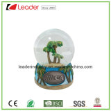 Customized Water Globe with 60mm for Promotional Gift and Home Decoration, Made of Polyreisn