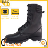 Goodyear Welt and Breathable Cow Leather Military Combat Boot