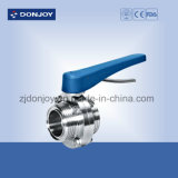 DIN Standard Butterfly Valve Thread with Plastic Handle