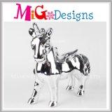 OEM Children′s Day Gift Ceramic Plating Unicorn Coin Bank