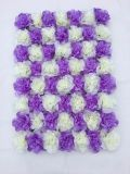 Party Background Rose Hydrangea Flower Wall Backdrops for Weddings Quality