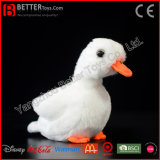 ASTM Realistic Stuffed Animal Plush Toy Soft White Duck