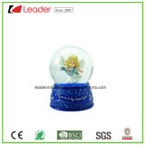 Polyresin Craft 60mm Snow Globe with Angel Figurine for Home Decoration and Souvenir Gift