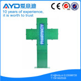 P10 Double Color LED Pharmacy Cross Sign Display Sign