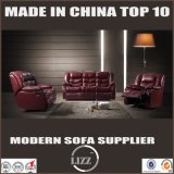 1+2+3 Recliner Leather Sofa with Power Connection