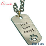 Hot Selling Factory Customized Logo Metal Gift Pet/Dog Tag