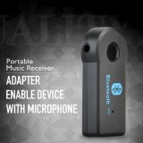 Universal A2dp Bluetooth Car Kit Aux Audio Music Receiver Adapter Handsfree 3.5mm Bt310 Wireless Bluetooth Car Receiver with Mic