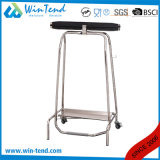 French Style Foot Operated Waste Trash Bag Holder with Mechanism