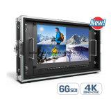 "15.6"" 4k Broadcast Director Monitor with 6g-Sdi, HDMI, VGA&DVI Inputs"