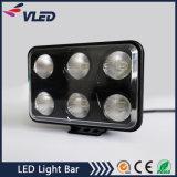 Spot Flood 60W 4500lm LED Work Light for Trucks SUV