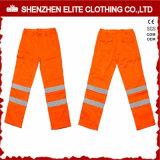 Traffic Reflective Orange Workwear Safety Pants Waterproof (ELTHVPI-26)
