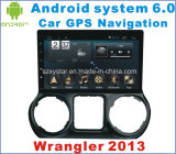Android System 6.0 Car DVD Player for Wrangler 2013 with Navigation&GPS