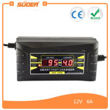 New! Suoer 5A 12V Car Battery Charger with Three-Phase Charging Mode (SON-1206D)