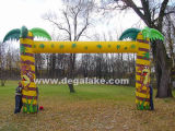 Palm Tree Inflatable Archway Inflatable Palm Tree Entrance Arch